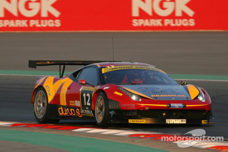 #12 AUH Motorsports/FF Corse Ferrari 458 Italia GT3: Leon Price, Rob Barff, Jordan Grogor, Charles Hollings