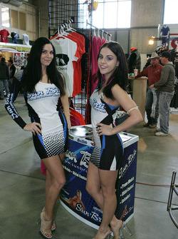 Trade show girls