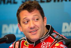 Press conference: Tony Stewart, Stewart-Haas Racing Chevrolet