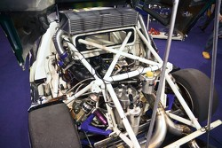 Engine bay of Ford RS200 Pikes Peak Special