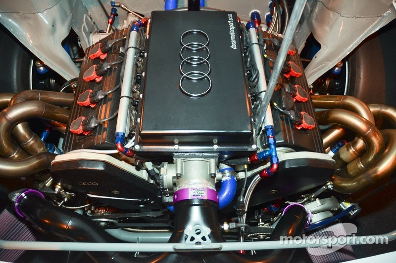Twin Turbo Audi V8 At Autosport International Show