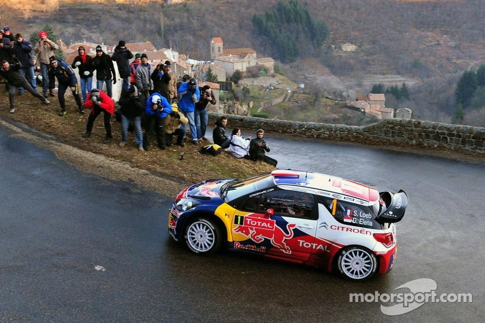 Sébastien Loeb and Daniel Elena, CitroÃ«n DS3 WRC, CitroÃ«n Total World Rally Team