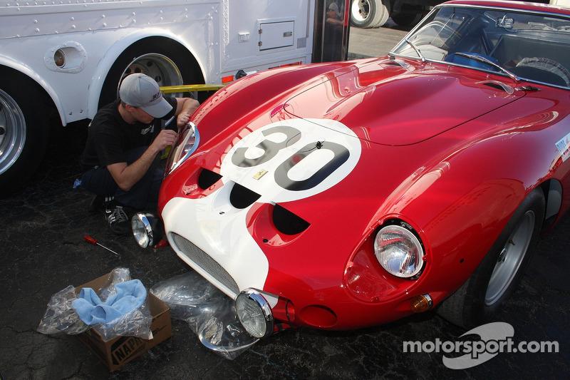 Ferrari 250 GTO klaar voor het Concours
