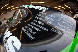 #4 Magnus Racing car detail