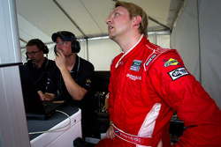 Pole winner Ryan Dalziel celebrates