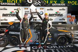 ST podium: class winners Jayson Clunie and Pierre Kleinubing