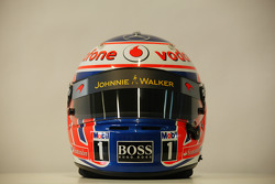 Casco de Jenson Button, McLaren Mercedes