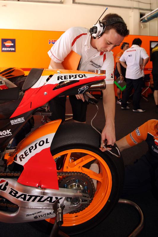 Repsol Honda teamlid