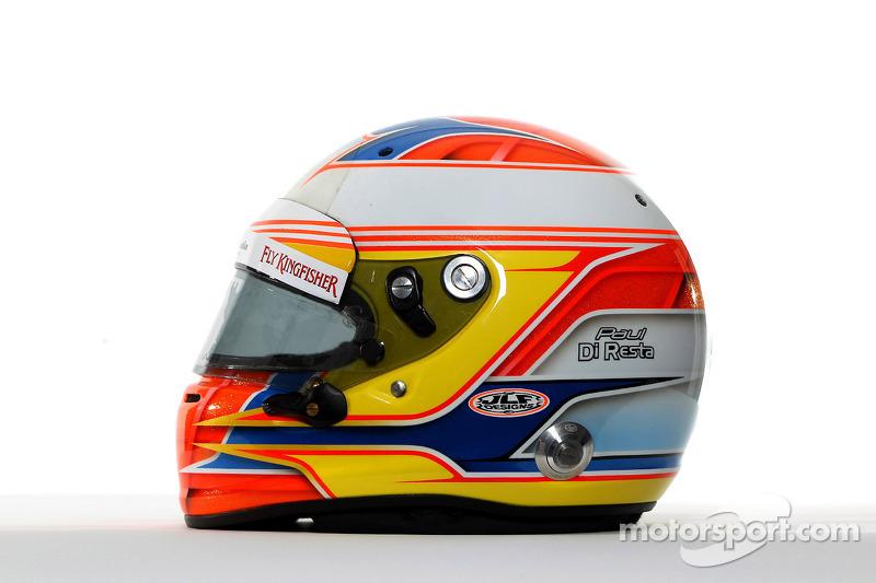 The helmet of Paul di Resta