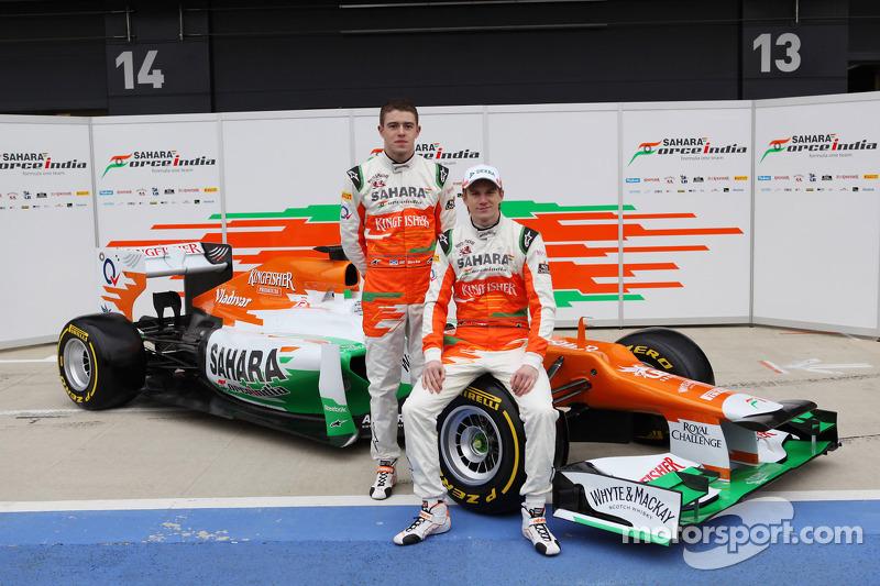 Nico Hulkenberg and Paul di Resta