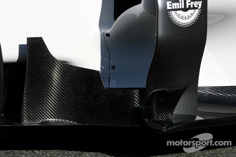 Technical detail body work - Sauber C31 Ferrari Launch