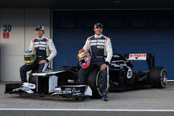 Bruno Senna, Williams F1 Team; Pastor Maldonado, Williams F1 Team