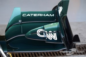 Caterham F1 Team front wing
