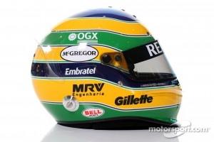 Bruno Senna, Williams F1 Team helmet