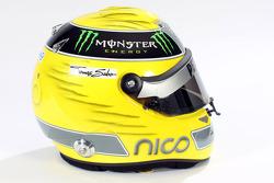 Nico Rosberg, Mercedes GP casque