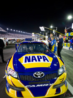 Pole sitting car of Martin Truex Jr., Michael Waltrip Racing Toyota