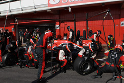Charles Pic, Marussia F1 Team pitstop
