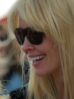 Chandra Johnson, wife of Jimmie Johnson, Hendrick Motorsports Chevrolet