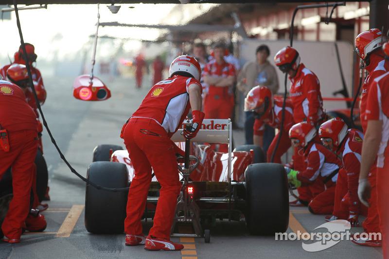 Felipe Massa, Scuderia Ferrari pitstop