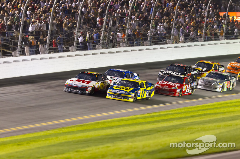 Greg Biffle, Roush Fenway Racing Ford en Matt Kenseth, Roush Fenway Racing Ford