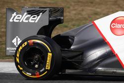 Sauber rear wing