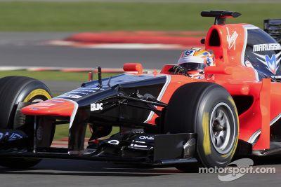 Marussia F1 MR01 launch
