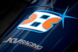 Car detail Rubens Barrichello, KV Racing Technology Chevrolet