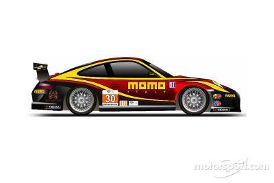 MOMO Porsche livery onthulling