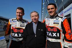 Gabor Weber, President FIA and Norbert Michelisz, BMW 320 TC, Zengo Motorsport