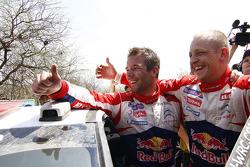Ganador Sébastien Loeb y Mikko Hirvonen, Citroën Total World Rally Team
