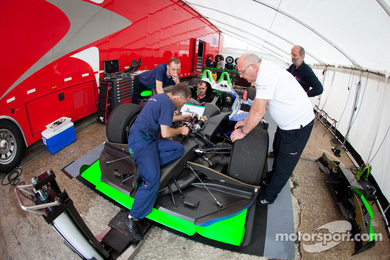 Pescarolo Team paddock area