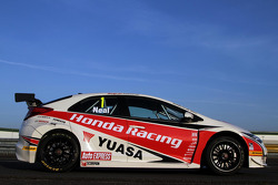 The 2012 Honda for BTCC