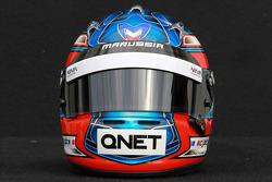 Charles Pic, Marussia F1 Team helmet