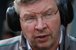 Ross Brawn, Team Principal, Mercedes GP Petronas