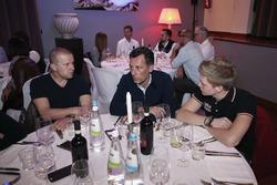 Директор спортивных программ Eurosport Франсуа Рибейро, Оливье Панис и Ян Эрлаше, RC Motorsport