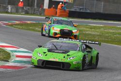 #963 GRT Grasser Racing Team, Lamborghini Huracan GT3: Mark Ineichen, Christoph Lenz, Roberto Pampanini