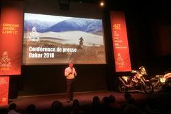 2018 Dakar press conference