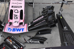 Force India VJM10, front wing