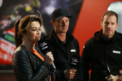 Suzi Perry, Colin Edwards, Neil Hodgson, BT Sport TV