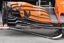 McLaren MCL32 ala anteriore
