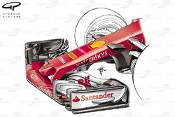 Ferrari SF70H: Nase mit S-Schacht