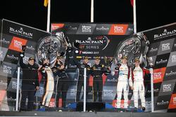 Podium: Race winner #84 Mercedes-AMG Team HTP Motorsport, Mercedes-AMG GT3: Maximilian Buhk, Franck Perera, second place #85 Mercedes-AMG Team HTP Motorsport, Mercedes-AMG GT3: Fabian Schiller, Jules Szymkowiak; third place #90 Akka ASP, Mercedes-AMG GT3: Michael Meadows, Raffaele Marciello