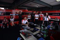 Paddock AP Honda Racing Thailand