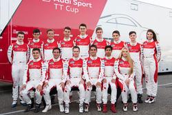 Тести Audi TT Cup
