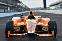 Fernando Alonso Indianapolis test