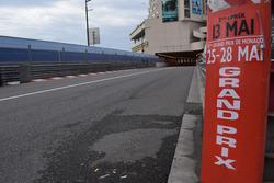 Circuito de Mónaco en construcción
