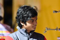 Пілот з розвитку Haas F1 Team Арджун Майні