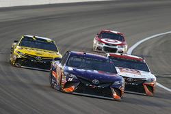Denny Hamlin, Joe Gibbs Racing, Toyota; Matt Kenseth, Joe Gibbs Racing, Toyota; Daniel Suarez, Joe Gibbs Racing, Toyota