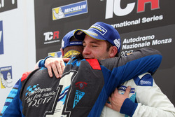 Podium: Stefano Comini, Comtoyou Racing, Audi RS3 LMS and Frédéric Vervisch, Comtoyou Racing, Audi RS3 LMS