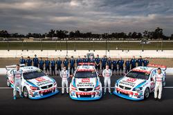 Garth Tander, James Goldwin, James Moffat, Richard Muscat, Garry Rogers Motorsport with the team